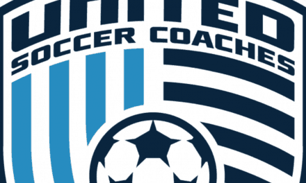 SOME RECOGNITION: FrontRow editor Lewis honored by United Soccer Coaches