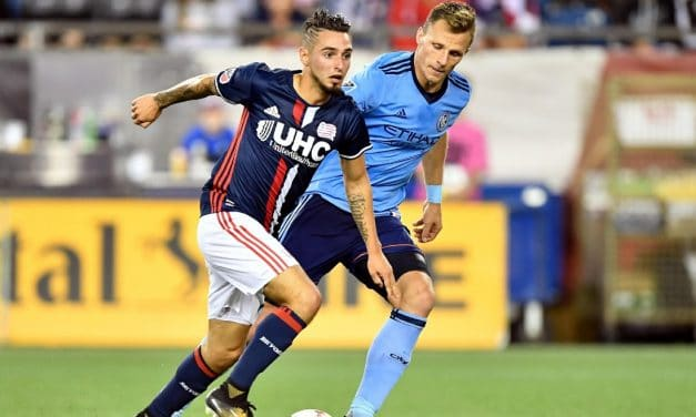 BACK FOR MORE: Sweat signs new deal with NYCFC