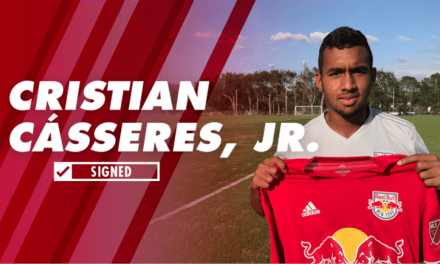 TEEN ANGEL: Red Bulls sign Cásseres, Jr., 18