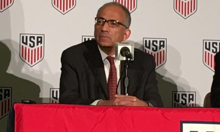 INSIDE-OUT: Cordeiro says he's ready to tackle his latest challenge as USSF president