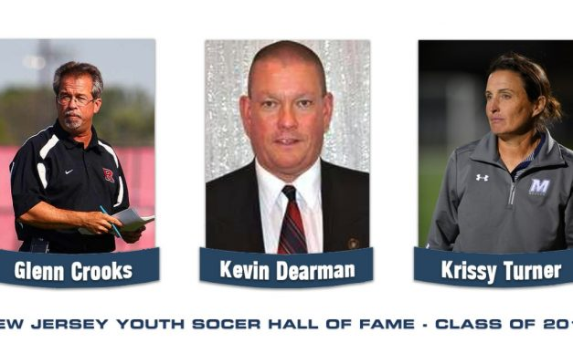 FAME FOR THREE: NJ Youth Soccer to induct Crooks, Dearman, Turner into its Hall