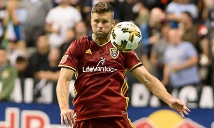 A BITTERSWEET GOODBYE: Chris Wingert decides to hang up his soccer boots for good