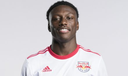 BLACK HISTORY MONTH (DAY 7 SIDEBAR): Having a ball as a ball boy: Etienne, Jr. saw some history at Red Bull Arena up close and personal