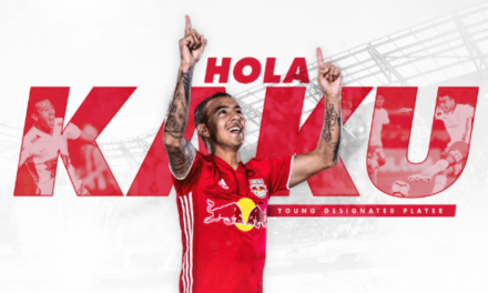 FINALLY: Red Bulls acquire Kaku as their 1st Young DP