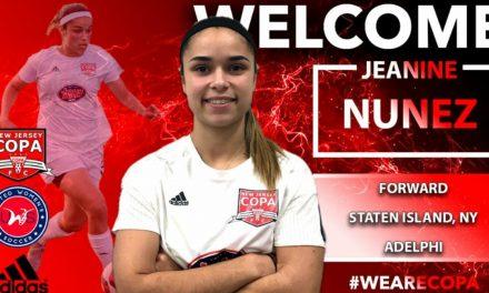 RETURN ENGAGEMENT: Nunez back with NJ Copa FC for 3rd season