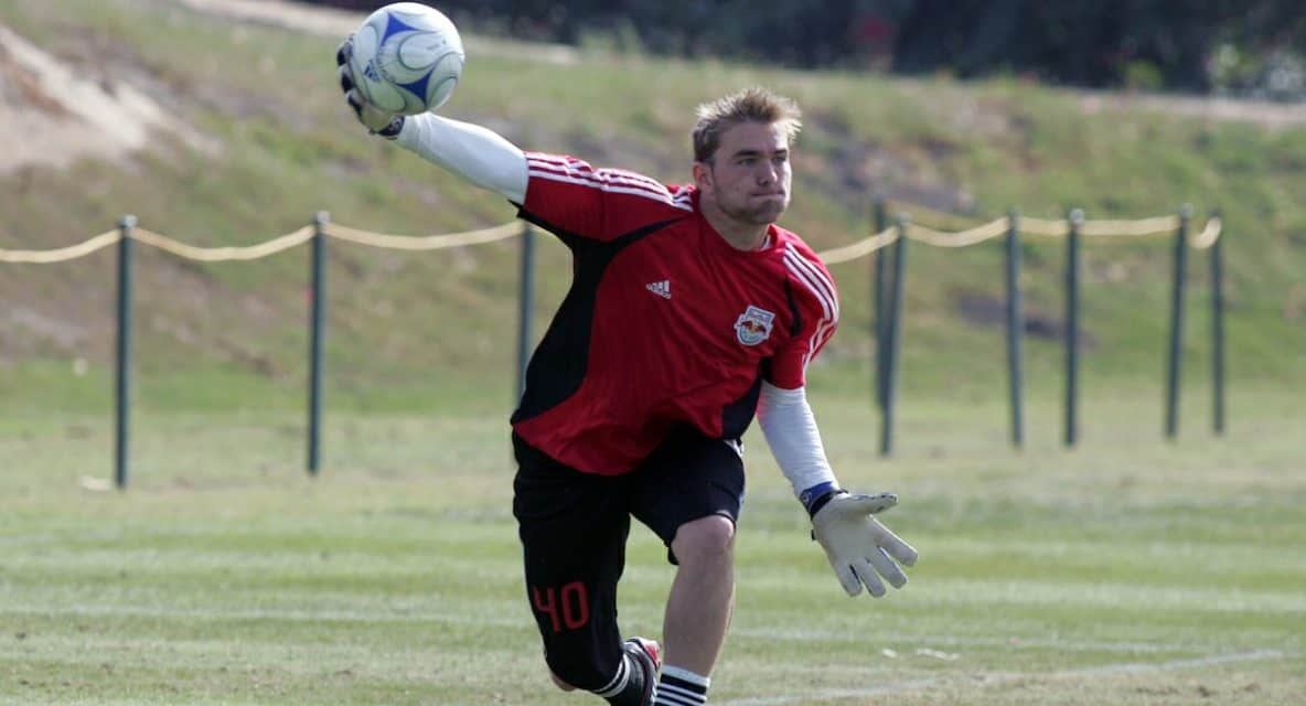A LITTLE TRADE: Red Bulls get 4th-round pick from Toronto FC for right of 1st refusal for GK Patterson-Sewell