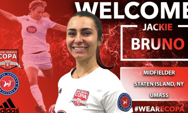 THE CAPTAIN IS BACK: Jackie Bruno returns to New Jersey Copa FC