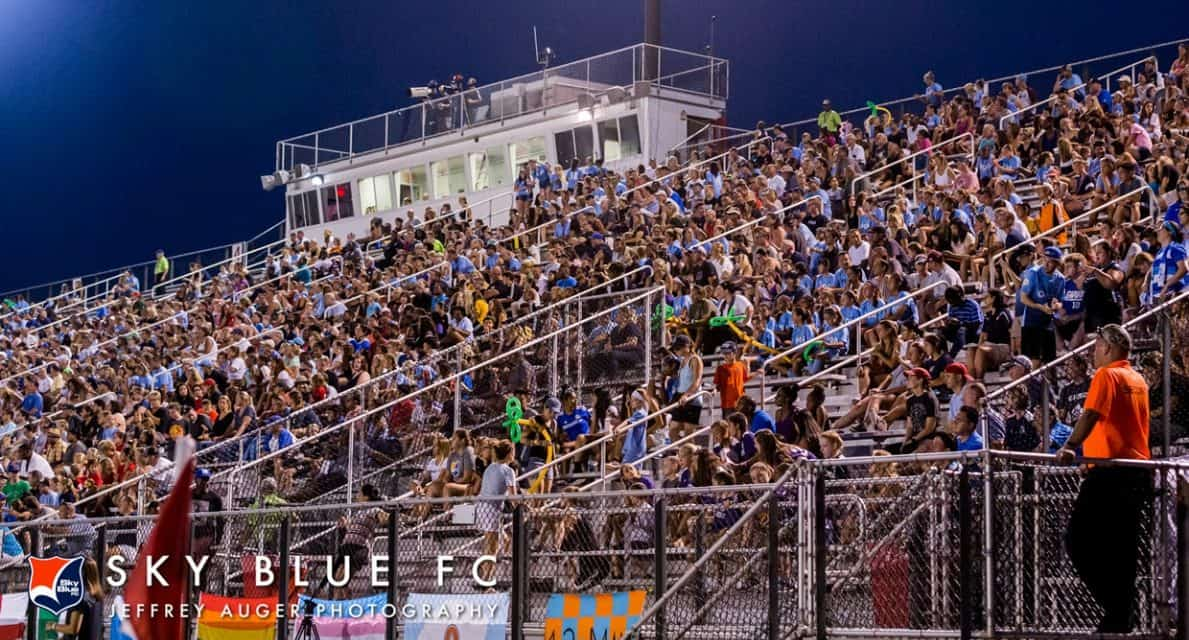 FOR OPENERS: Sky Blue FC will start season at North Carolina March 31