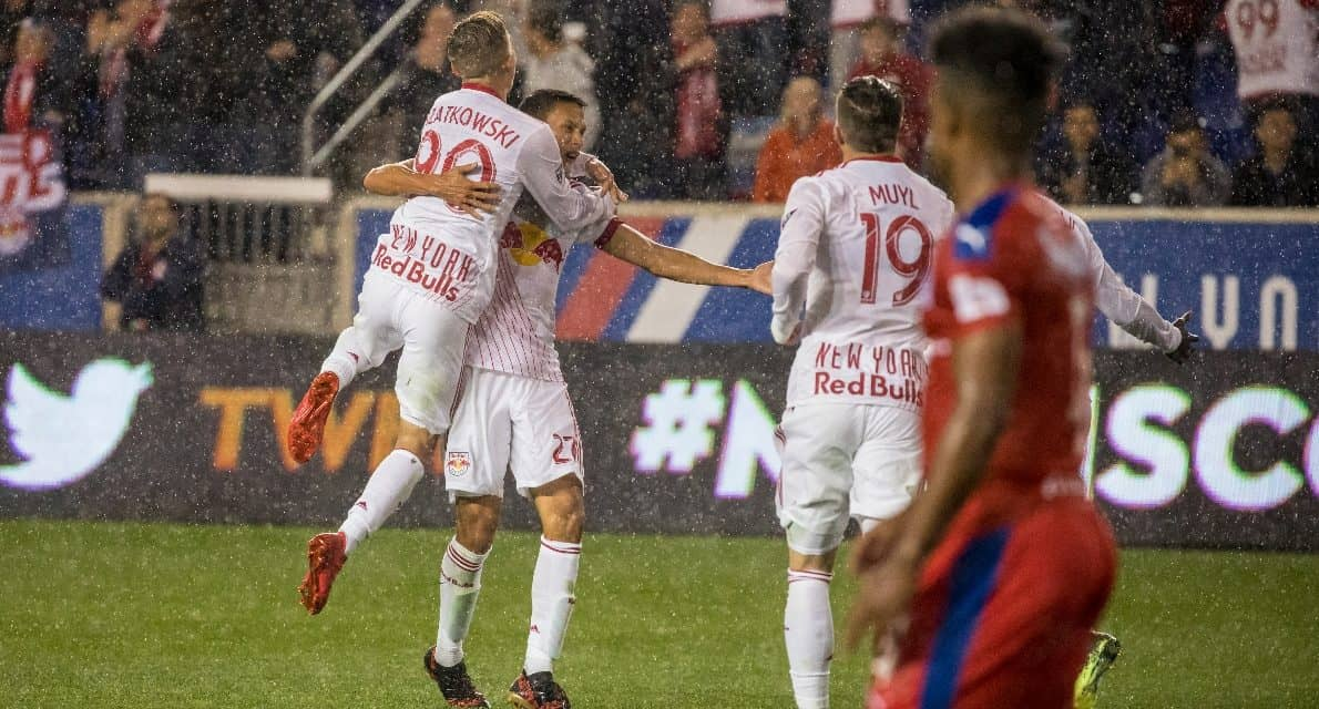 WHAT A DIFFERENCE A YEAR MAKES: More confident Davis makes an early impact for Red Bulls