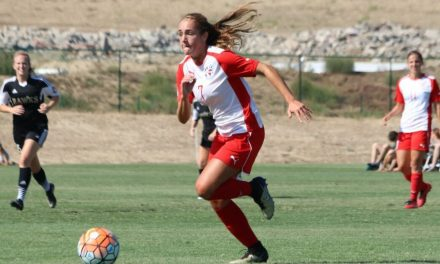 LITERALLY A LIFELONG PASSION: Sydney Dawson has been getting her kicks in soccer since she was in diapers