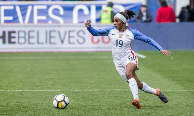 SHE MAKES IT CRYSTAL CLEAR: Dunn says now was the right time to return