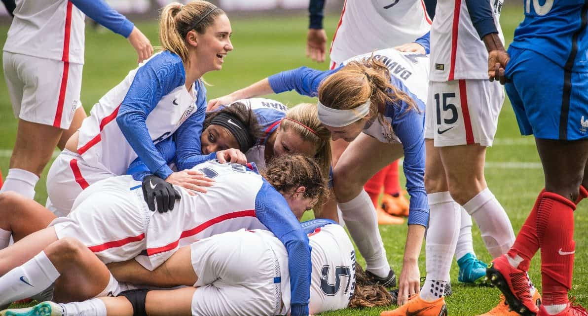 NOT GOOD ENOUGH: U.S. women struggle to 1-1 draw with France in SheBelieves Cup