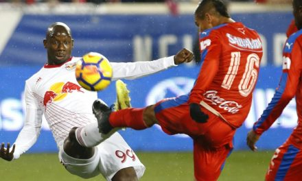 QUARTERFINAL BOUND: Red Bulls blank Olimpia in CCL Round of 16