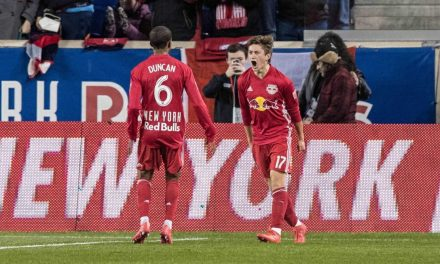 DEEP IMPACT: Despite starting three regulars, Red Bulls roll over Timbers to spoil Savarese's return