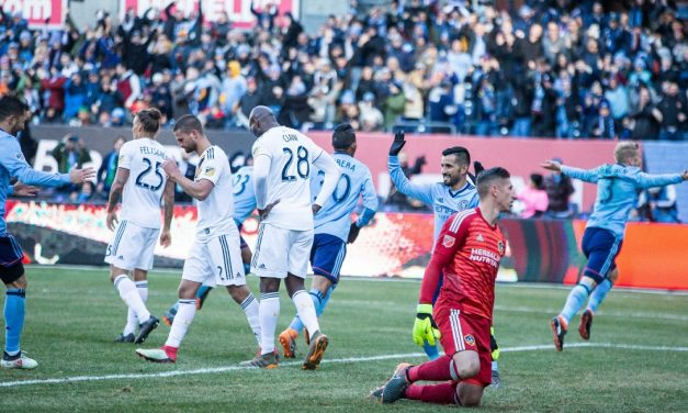 HOW SWEDE IT IS: Tinnerholm scores with new NYCFC teammates on and off the field
