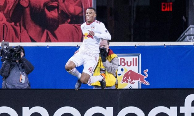 ADAMS TO THE RESCUE: Teenager gives Red Bulls a needed boost