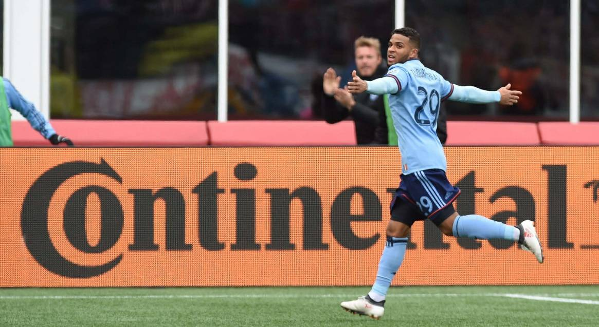 NOT BAD FOR AN UNDERSTUDY: With Villa still out, Tajouri puts them in for NYCFC