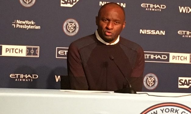 VIEIRA'S VIEWS: NYCFC boss talks about big win, Villa, Matarrita, Wallace