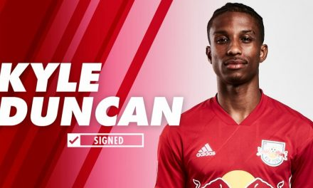 SIGNING ON: Ex-Red Bulls Academy player Kyle Duncan joins Red Bulls