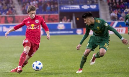 THREE HAPPY CAMPERS: Red Bulls' Mines, Fernandez, Tolkin head for Florida