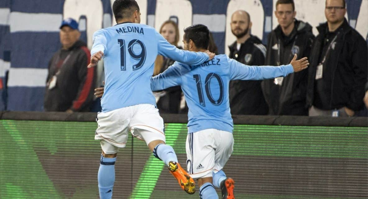 NO MEAN FEAT: NYCFC takes season opener in Kansas City, 2-0