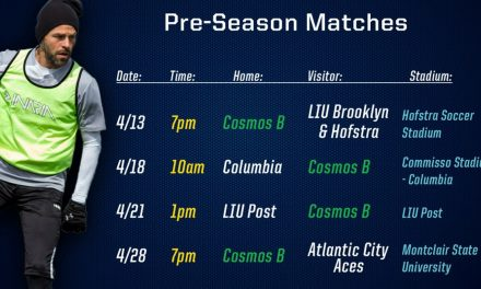 PREPPING FOR THE SEASON: Cosmos B to play on four preseason dates