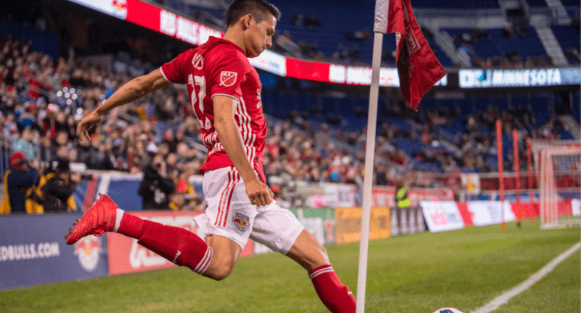 HE'S NOT GOING ANYWHERE: Davis signs new contract with Red Bulls