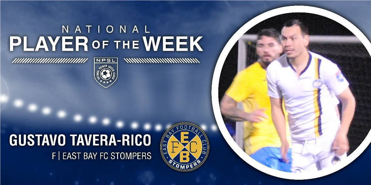 NPSL PLAYER OF THE WEEK: Stompers forward Tavera-Rico