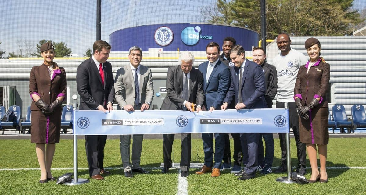 STATE OF THE ART: NYCFC unveils its team training facility