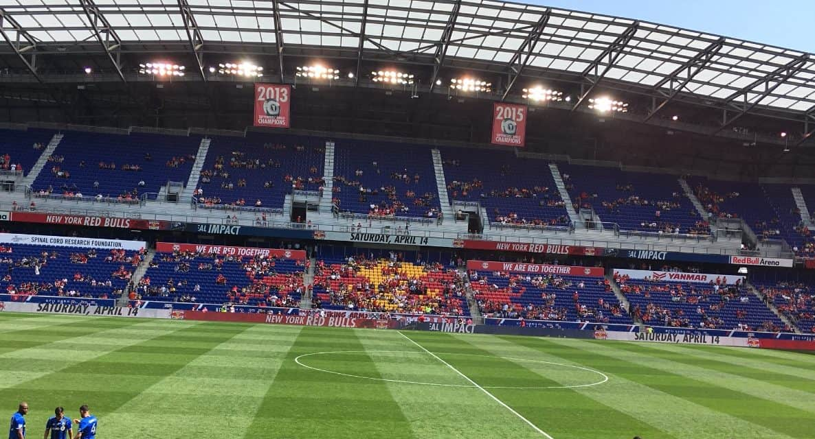 A DERBY WITHOUT FANS: Red Bulls to battle NYCFC in empty Red Bull Arena