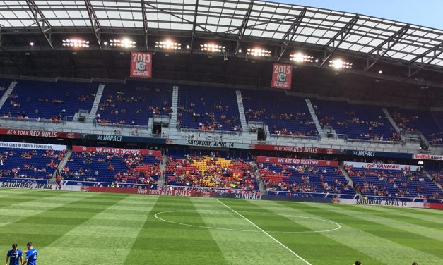 15 PERCENT SOLUTION: Red Bulls allowed to have some fans at games