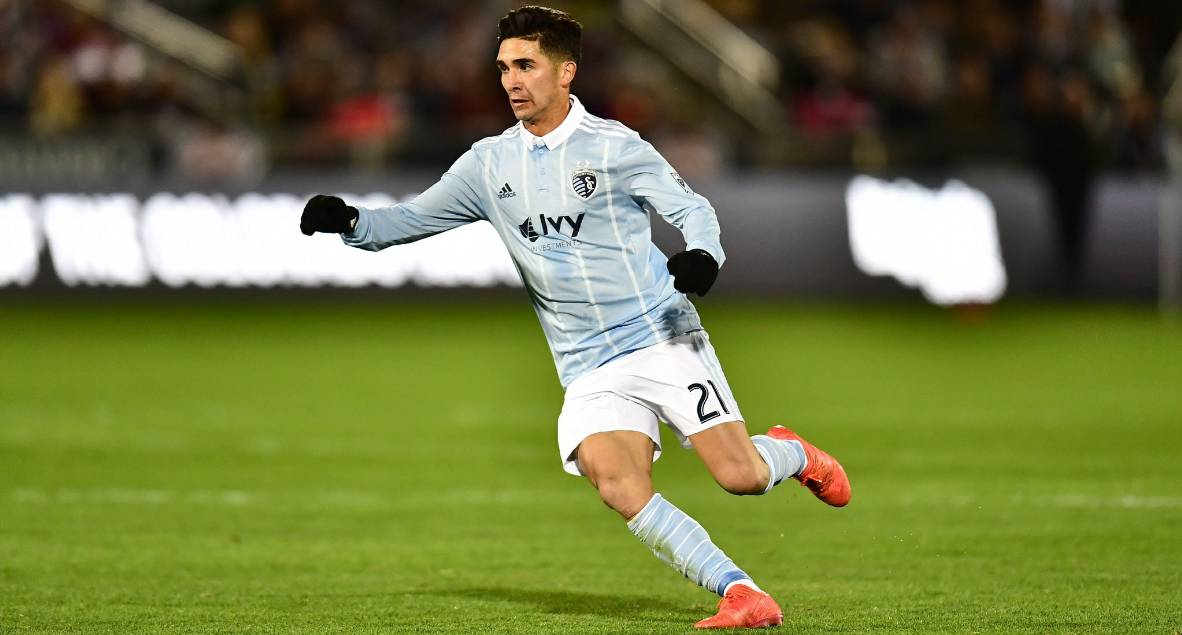 PLAYER OF THE MONTH: MLS honors SKC's Felipe Gutiérrez