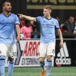 GETTING THE POINT: NYCFC rallies again on the road at Atlanta to remain unbeaten
