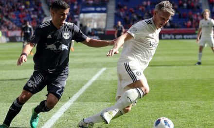 IT WAS ONE OF THOSE DAYS: Red Bulls fall to struggling Fire in rare home loss, 2-1