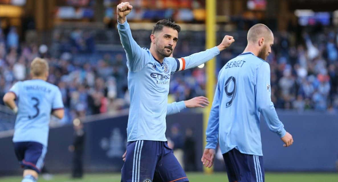 David Villa brace sends New York City FC past FC Dallas
