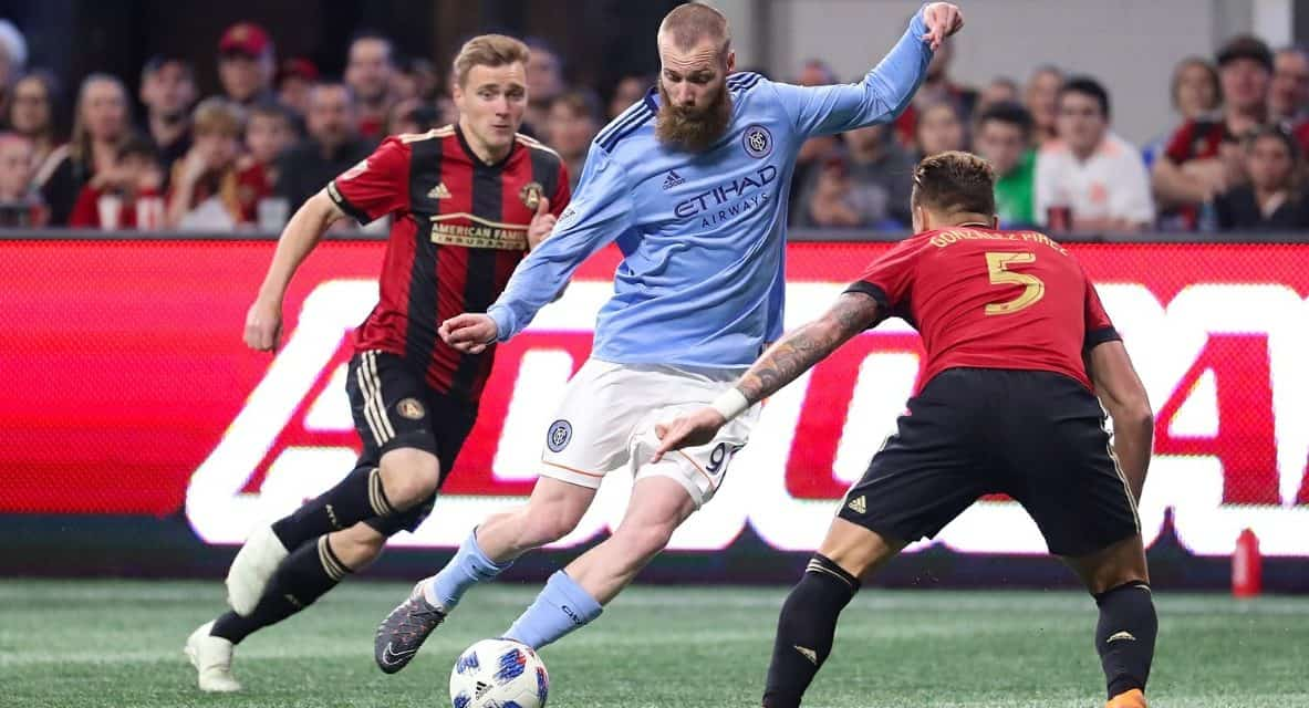 DERBY'S OPENING SALVO: Berget: I don't know if Red Bulls are really a NY team, but they want to be one