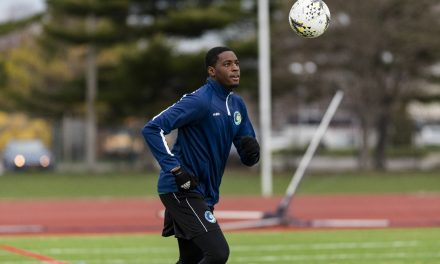READY TO MAKE HIS MARK: Bronx-born Bartley sees an opportunity with Cosmos B