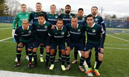 GETTING OFF ON THE RIGHT FOOT: Cosmos B roll over Boston City FC in opener, 4-0