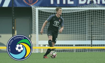ADDING TWO: Cosmos B sign Halfhill, Robinson