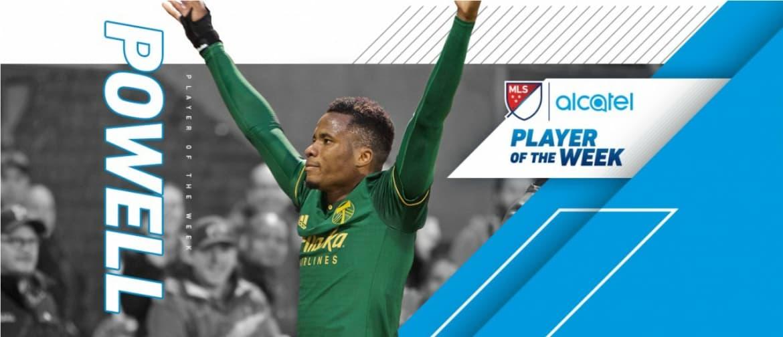 MLS PLAYER OF THE WEEK: Portland defender Powell is honored