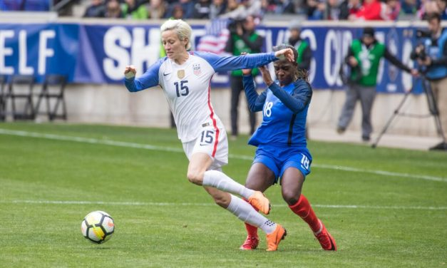 THEY'RE SHORT-LISTED: Heath, Lavelle, Morgan, Rapinoe on Ballon d'Or ballot