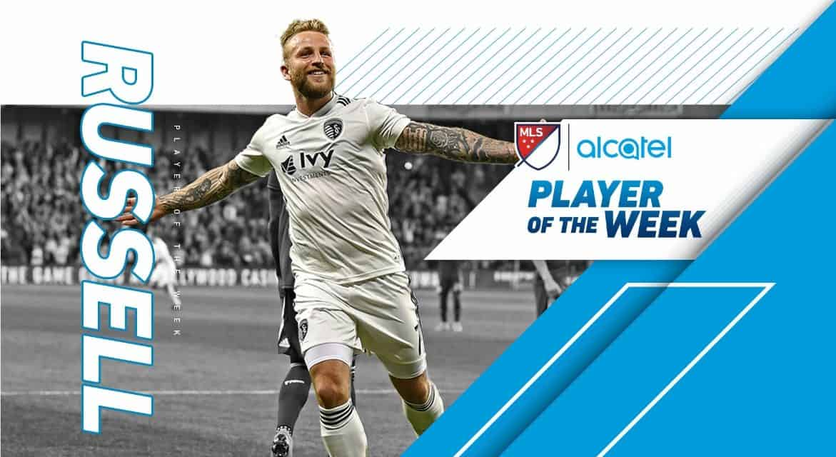 JOHNNY ON THE SPOT: MLS names SKC's Russell player of the week