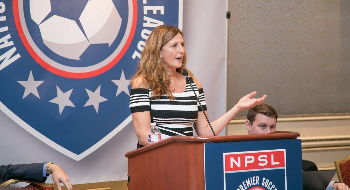 THE PERFECT COMBINATION: Her soccer, financial background make Spera an NPSL leader