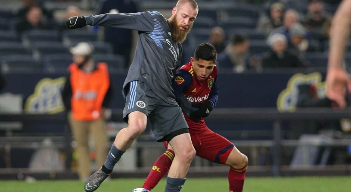 FOUR SCORE: As NYCFC routs RSL, 4-0