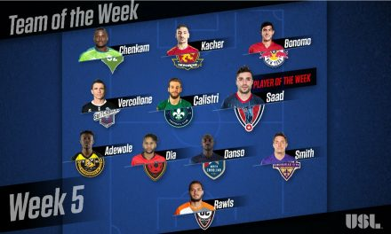 USL PLAYER OF THE WEEK: Indy Eleven's Saad is feted