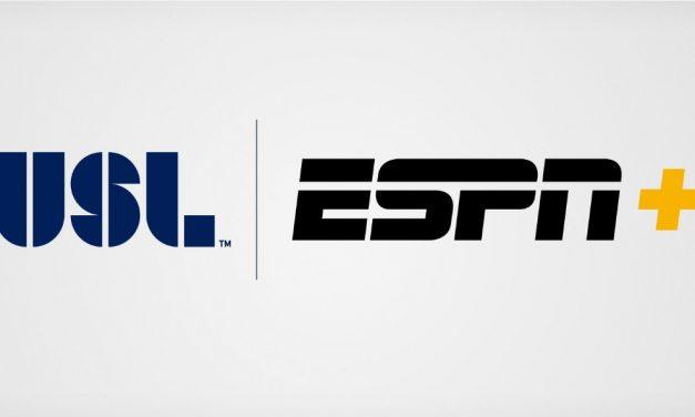 EXPANDED AGREEMENT: USL, ESPN extend deal through 2019 season