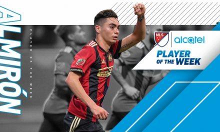 MLS HONORS: Atlanta's Almiron named player of the week
