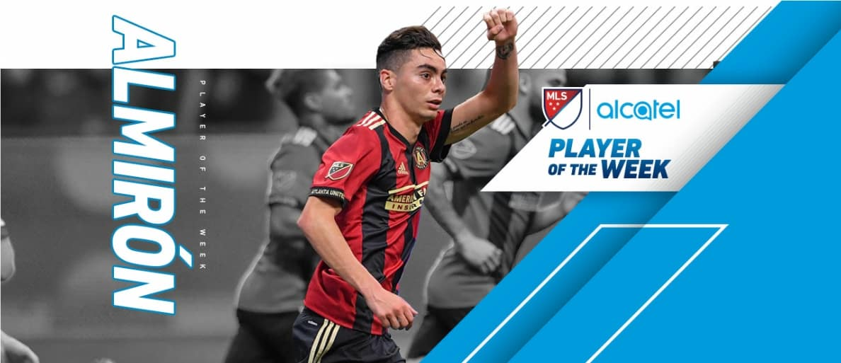MLS HONORS: Atlanta's Almiron named player of the week