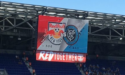 "LET'S GO TO THE VIDEOTAPE: Highlights of NYCFC""s 1-1 draw with the Red Bulls"