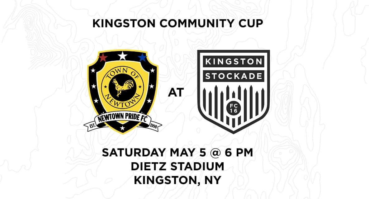 PRESEASON FRIENDLY, FUNDRAISER: Kingston Stockade FC hosts Newtown Pride FC Saturday